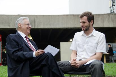 Fernando Henrique Cardoso and Pedro Telles