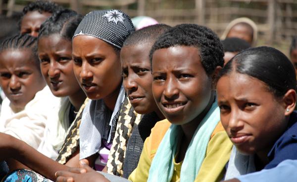 Girls in Ethiopia