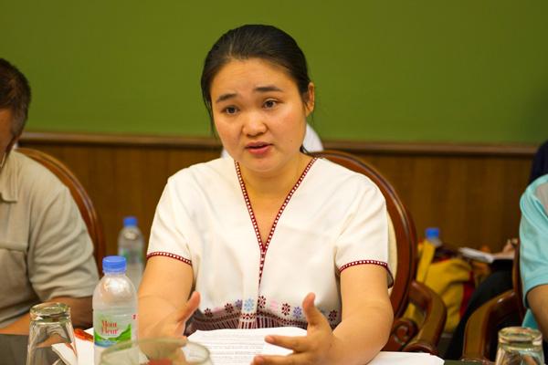 Karen activist K'nyaw Paw