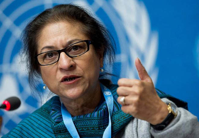 Asma Jahangir (Credit: UN Photo / Jean-Marc Ferré)