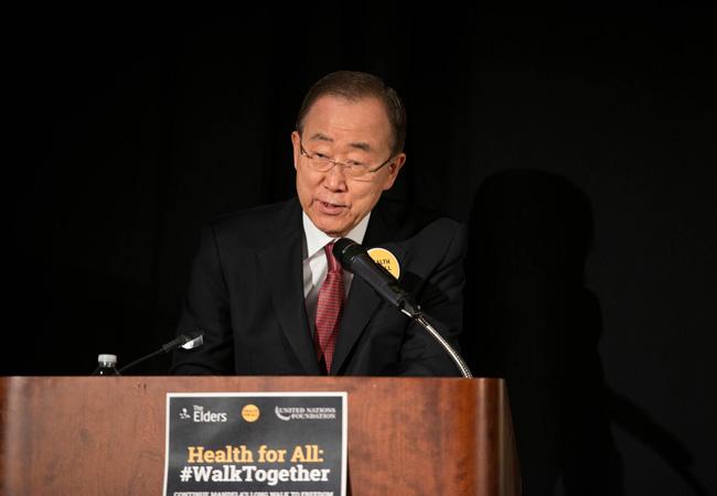 Ban Ki-Moon #WalkTogether