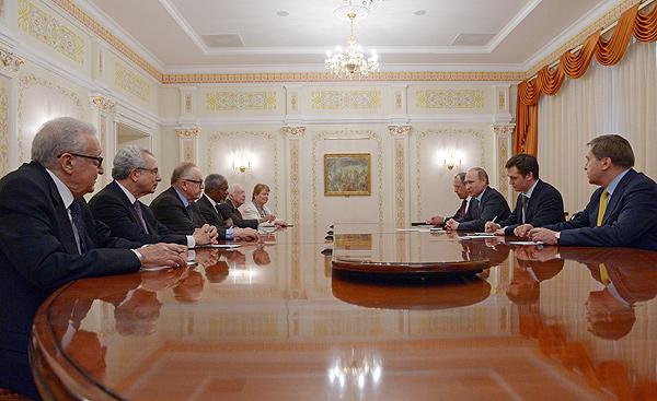 The Elders with President Putin