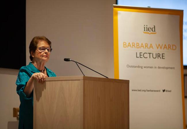 Gro Harlem Brundtland IIED Lecture