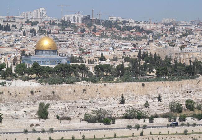 View of Jerusalem (Credit: Muath Khatib / The Elders)