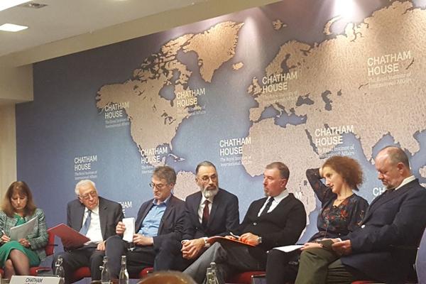 Lakhdar Brahimi at Chatham House