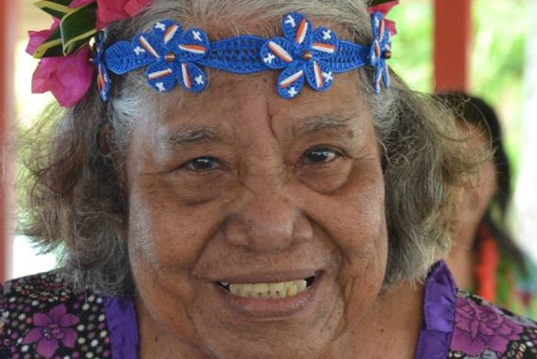 Limeyo Abon, a nuclear survivor from the Marshall Islands
