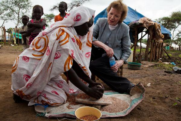Mary Robinson in Sudan