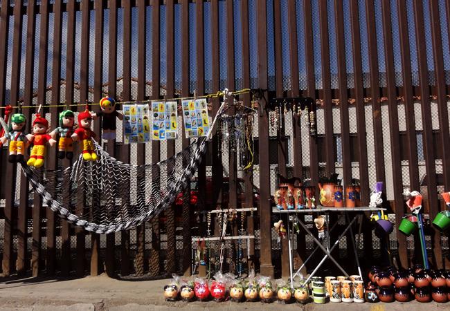 Mexicali, Baja California, Mexico/US Border