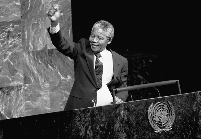 Nelson Mandela Universal Declaration of Human Rights