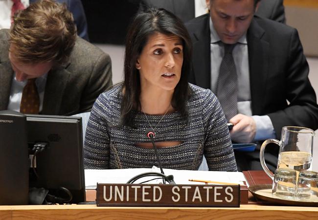 Nikki Haley US Ambassador to the UN