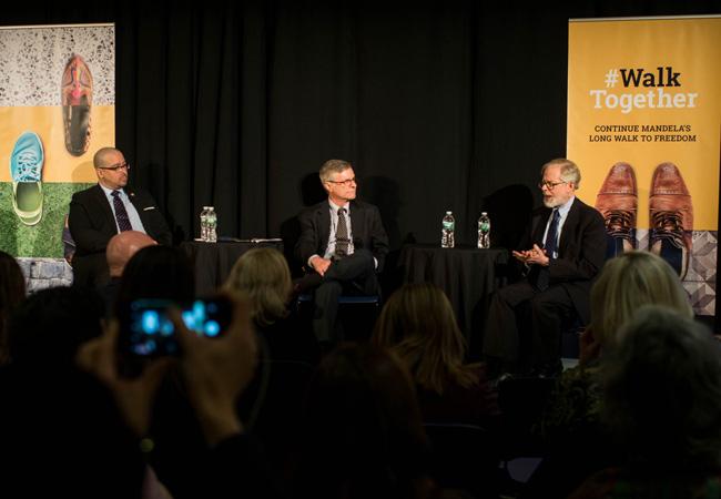 Gustavo Rivera, Richard Gottfried and Dr David Oshinsky