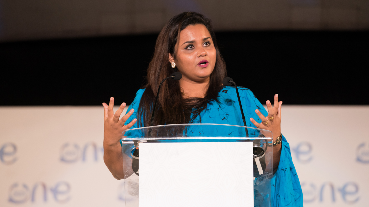 UN Youth Envoy Jayathma Wickramanayake