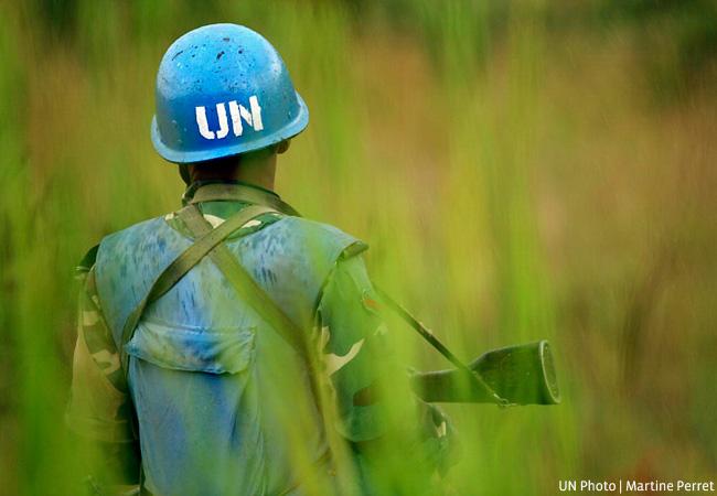 UN Peacekeeper (Credit: UN Photo / Martine Perret)