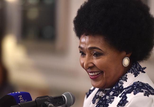 Winnie Madikizela-Mandela in Cape Town in  2016. (Photo: GCIS)